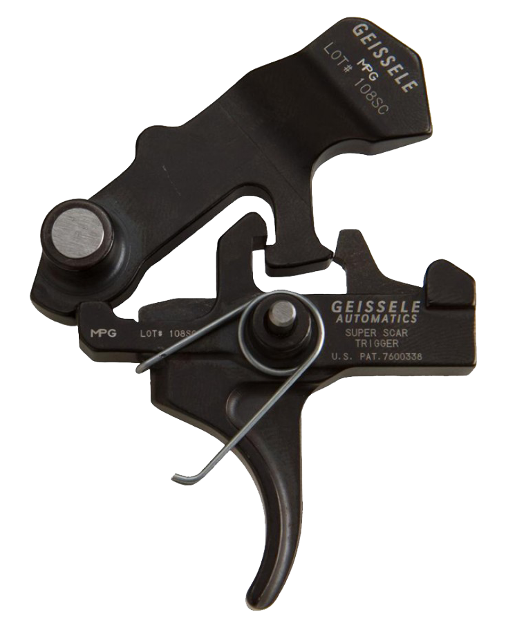Geissele Super SCAR Trigger – FN Scar 17 or 16 Drop in Trigger