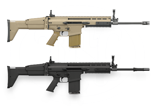 SCAR 17 – 7.62×51 NATO (.308) / Build a custom FN Scar 17s Rifle