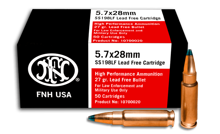 SS198LF Green Tip 5.7x28mm Ammo – (500 Rounds)