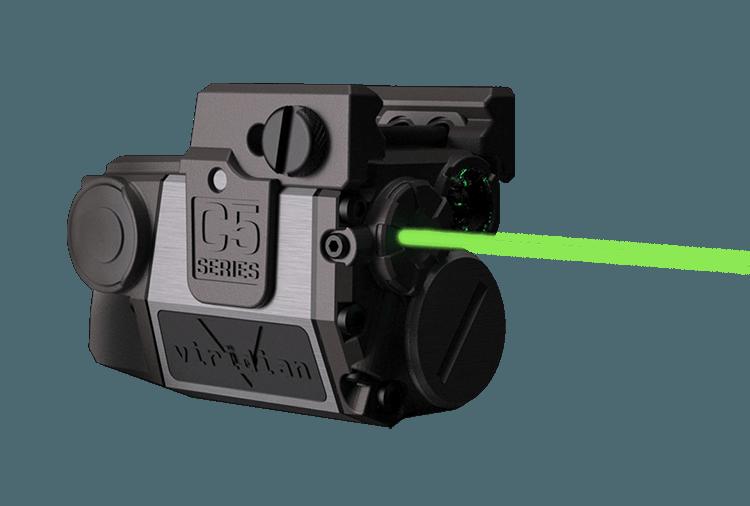 Viridian C5 Green Laser/Light Combo (100 lumens – Compact)