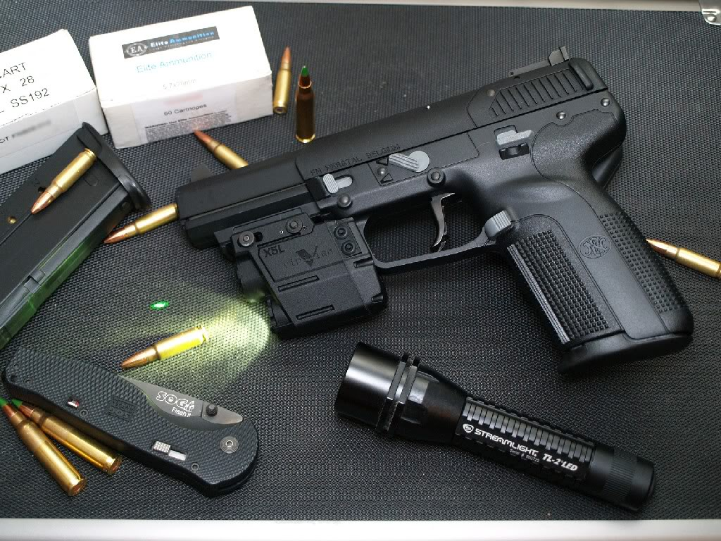 Fn Five Seven Accessories 5 7x28mm Mkii Usg Model