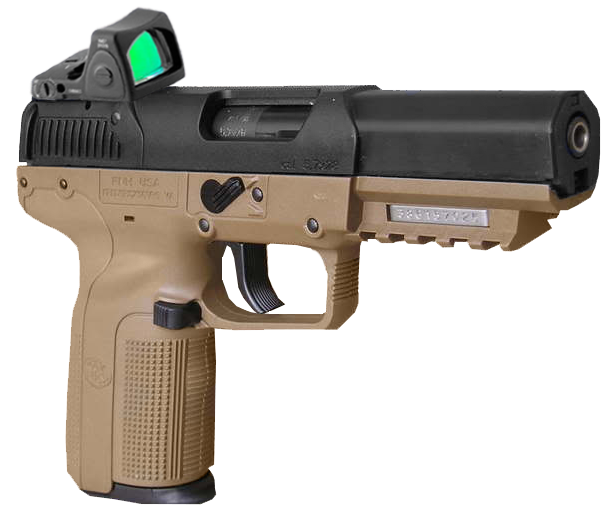 fn five seven rmr red dot