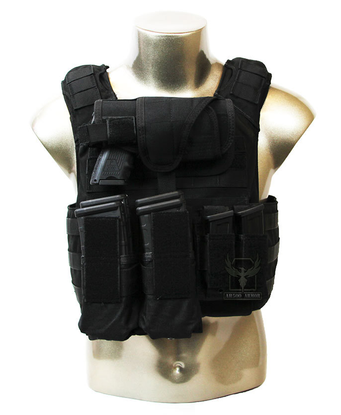 Body Armor AR500 Level III+ Lightweight Plates with Banshee Plate Carrier