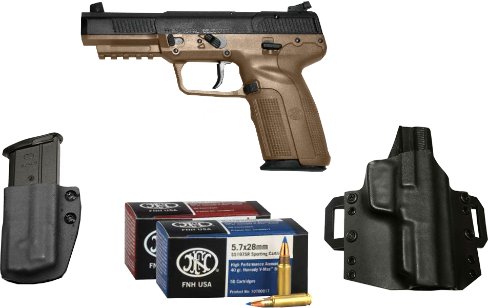 FN 57 MKII Shooters Package For Sale – Build your custom FN 5.7 package